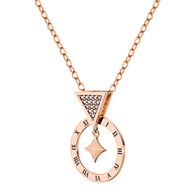 14K / 18K Approximate Time Pendants purchase only / Necklace