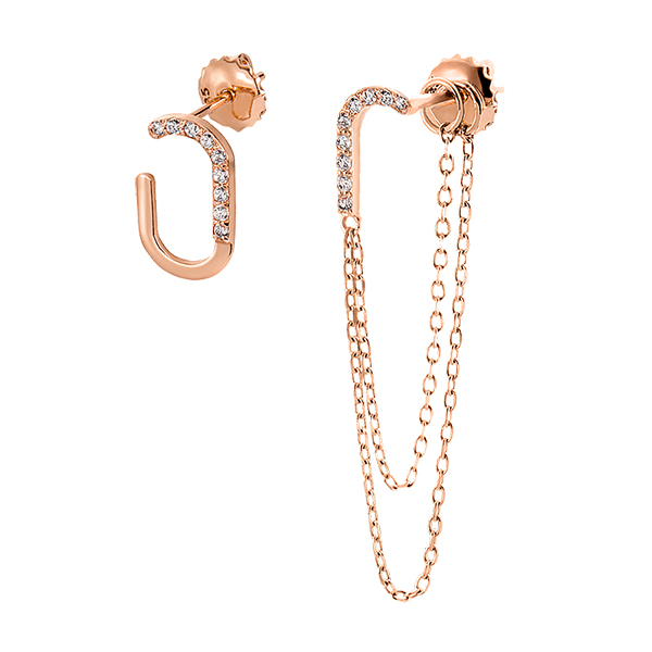 14K / 18K Havana two-way Short & Long Earrings
