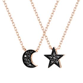 14K / 18K Starlight Moonlight Necklace [2]