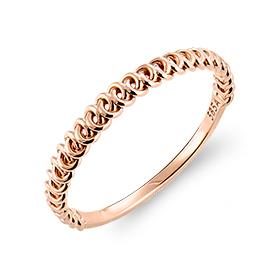 14K / 18K Budapest chain ring
