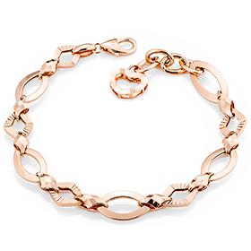 14K / 18K déjà vu chain bracelet