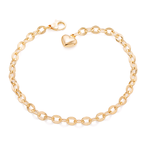 14k / 18k wave hollow (small) bracelet [overnightdelivery]