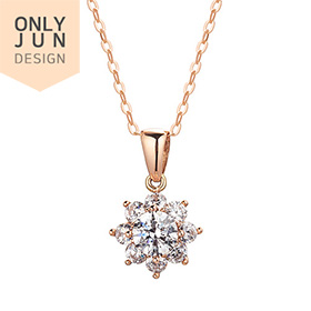 14K / 18K Gardenia Part 3 Necklace [overnightdelivery]