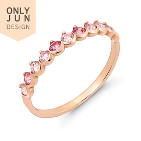 14K / 18K soft pink ring