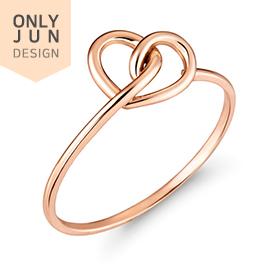 14K / 18K Love Draw line ring