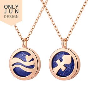 14k / 18k natural Lapis lazuli constellation Necklace [12 species]