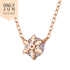 14K / 18K Christmas Snowflake Necklace [overnightdelivery]