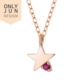 14K / 18K Christmas Star Necklace [overnightdelivery]