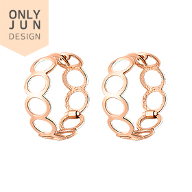 14K / 18K Real Circle Skin Fit earring [overnightdelivery]