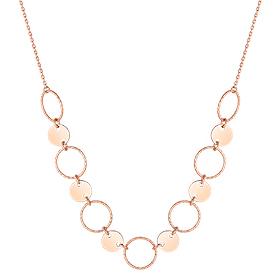 14K / 18K Prisma circle Necklace
