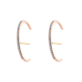 14K / 18K crescendo ear cuff earring