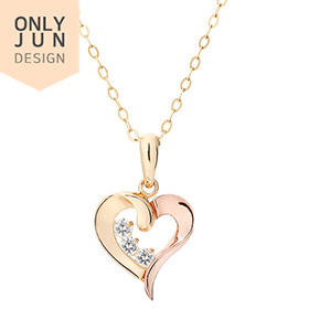 14K / 18K Lila Love Necklace [overnightdelivery]
