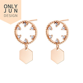 14K / 18K only show you hexa earring