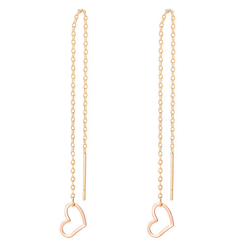 14k pitch love earring [overnightdelivery]
