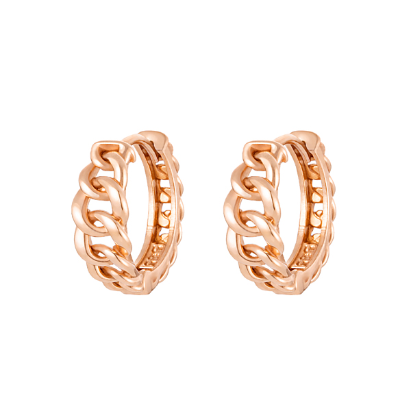 14K / 18K Victoria chain ring earrings [2 kinds of choice1]