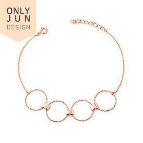 14k Fourcircle ten pieces bracelet