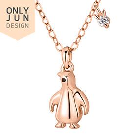14K / 18K Good Luck Penguin Necklace