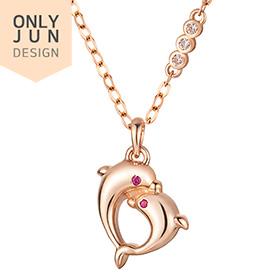 14K / 18K Love Jo Dolphin Necklace