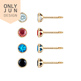 14K London Travel Piercing [4 types1] [overnightdelivery]
