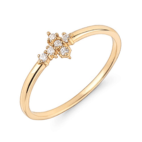 14K / 18K Shana Cross ring