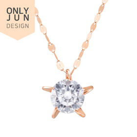 14K Whispering Star Necklace [overnightdelivery]