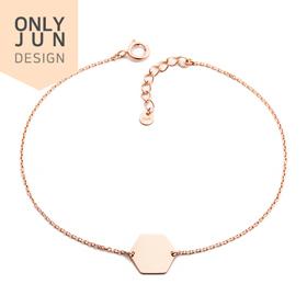 14K Daily Hexagon bracelet [Overnightdelivery]