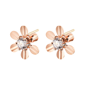 14K/18K mango flower earring