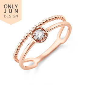 [♥Gift for me♥]14K/18K light part 1 diamond ring/proposing ring